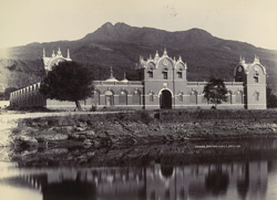 [View of the Prince Albert Victor Leper Asylum, Junagadh]